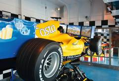Grand-Prix-Simulator auf der Costa Pacifica
