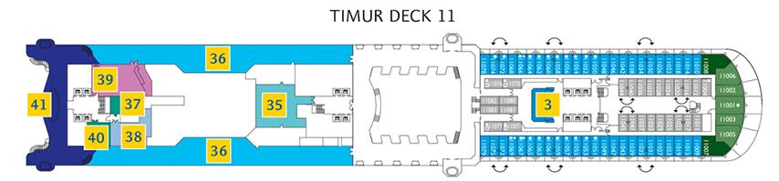 Jetzt Den Costa Diadema Deckplan Ansehen Costa Kreuzfahrten